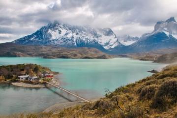 Naturpanorama in Patagonien