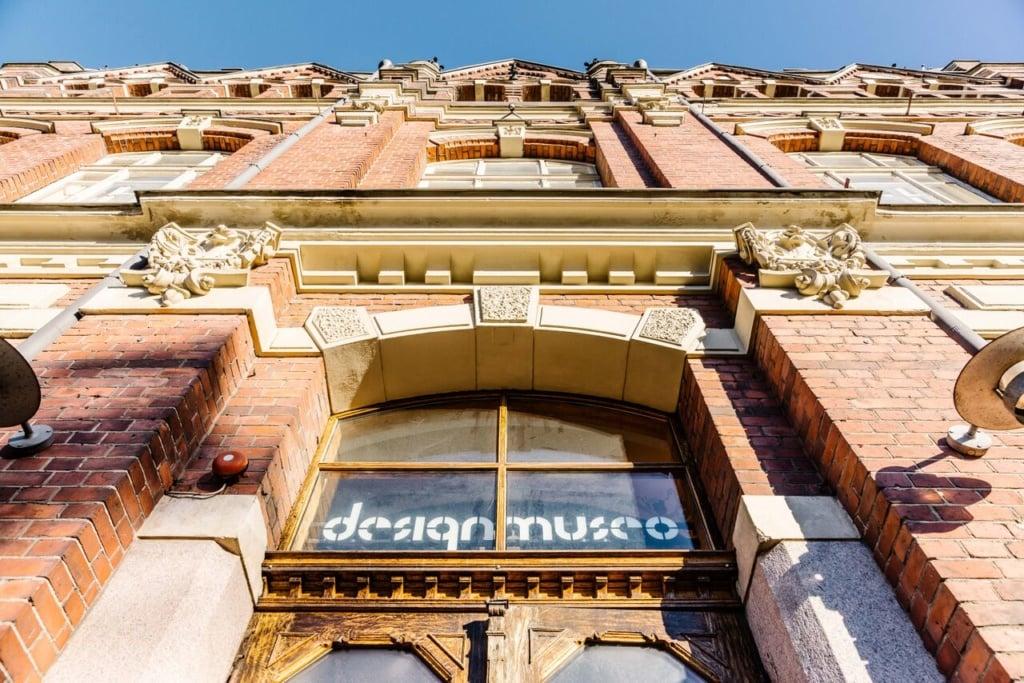 Designmuseum in Helsinki von außen