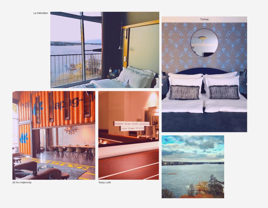 Collage Hamburger Hotels