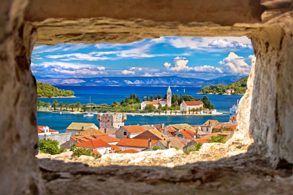 Insel Vis in Kroatien