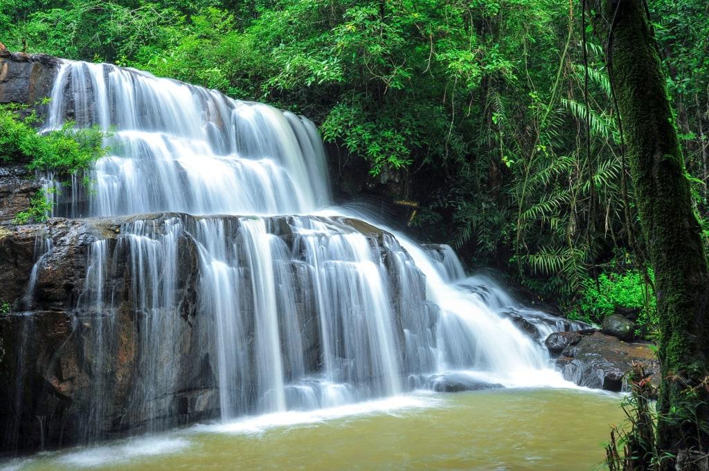 Wasserfall im Nationalpark Khao Yai