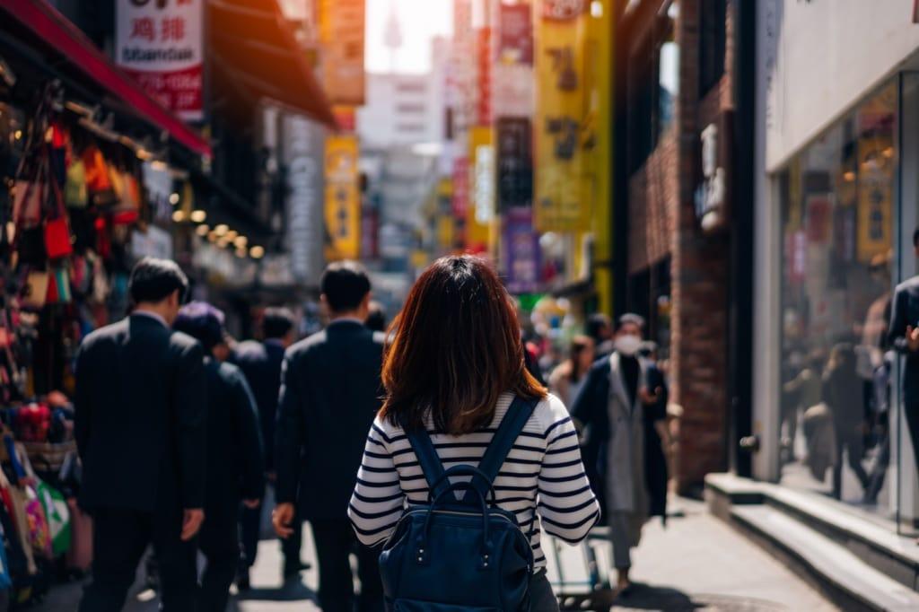 Soeuls Straßen laden zu einem Streifzug ins Unbekannte ein.
