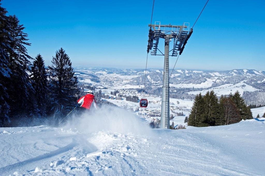 Skigebiet Imberg in Oberstaufen