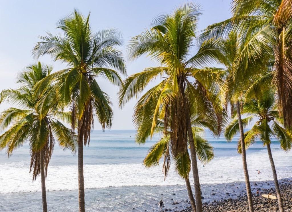 Strand Punta Roca in El Salvador