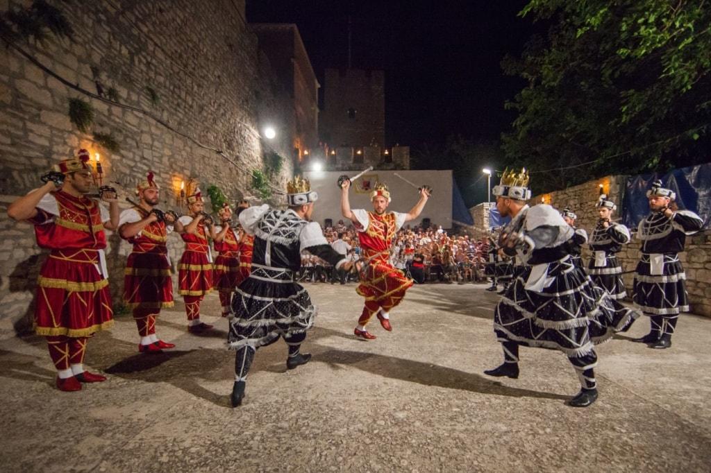Schwerttanz Kroatien