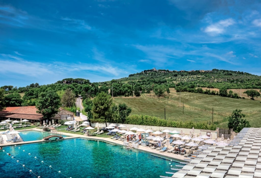 Pool in der Terme di Saturnia