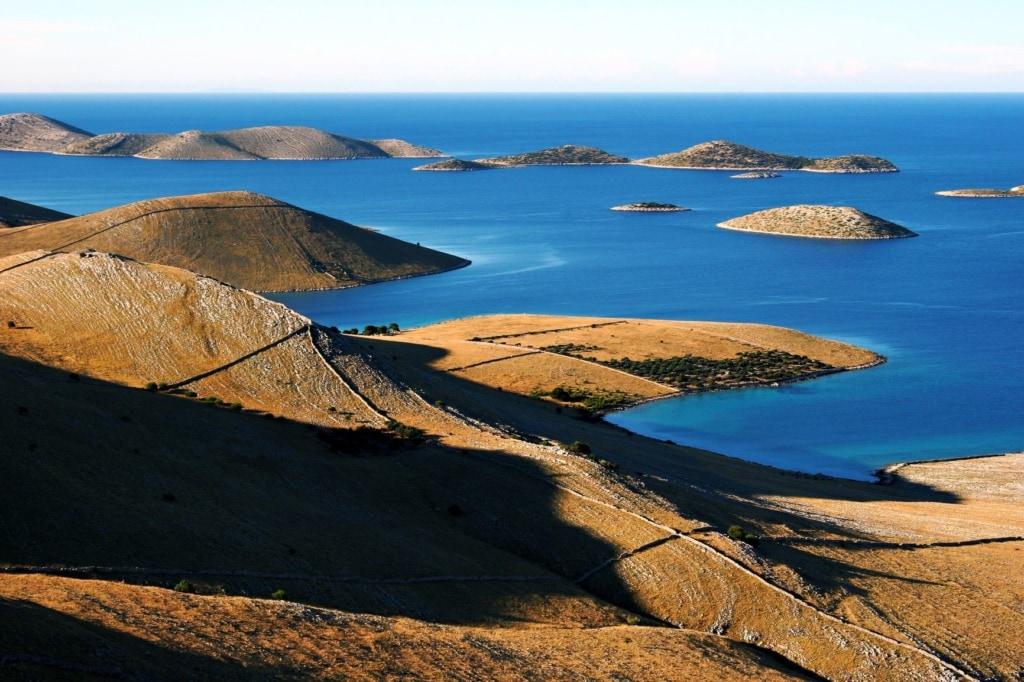 Luftaufnahme Kornati-Inseln Kroatien