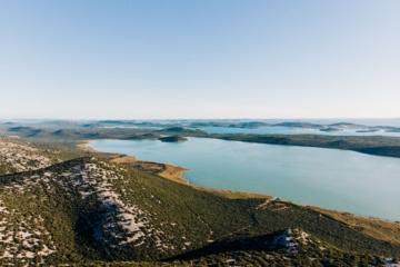 Blick auf den Naturpark Kornati