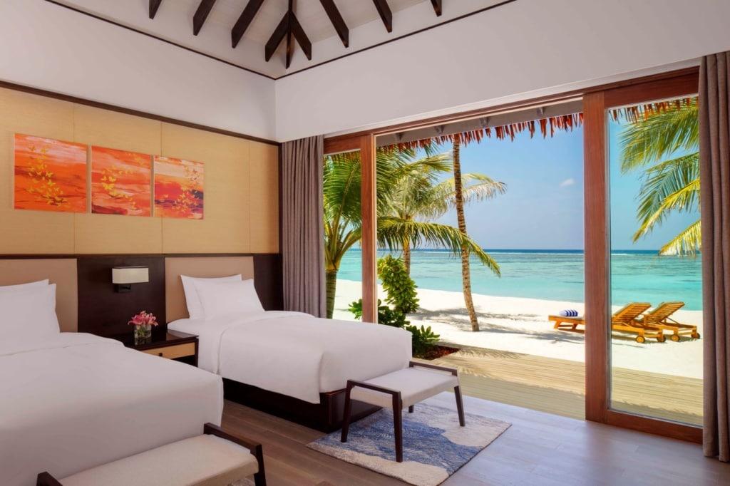 2 Bedroom Beach Suite Villa im Radisson Blu Resort Maldives