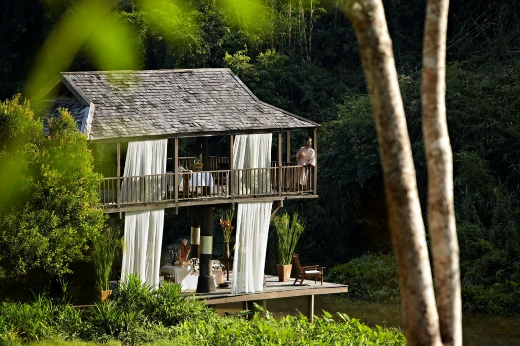 Spa im Anantara Golden Triangle Elephant Camp Resort & Spa