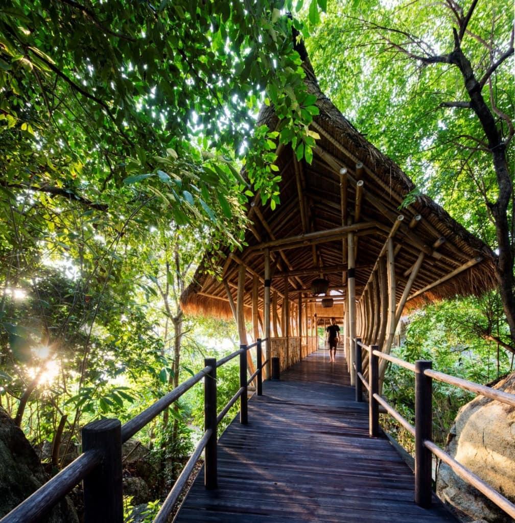 Architektur im Cempedak Island