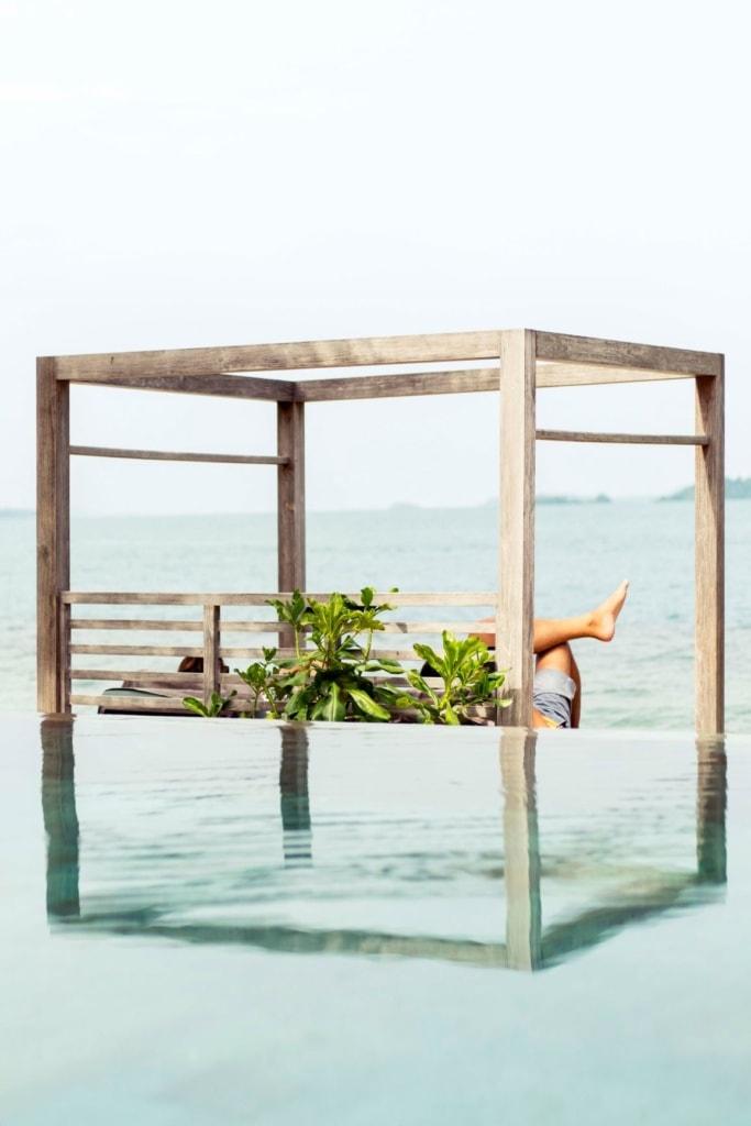 Pool im Cempedak Island