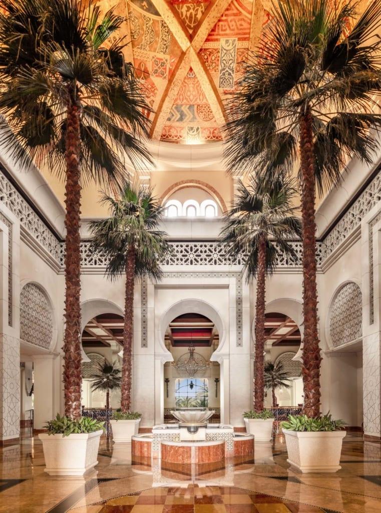 Orientalische Lobby im One&Only Royal Mirage in Dubai