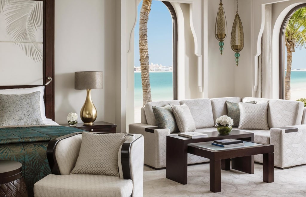 Interior einer Suite im one&Only in Dubai