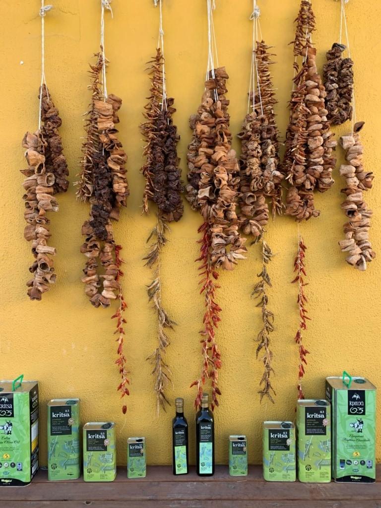 Olivenöl aus Krista auf Kreta