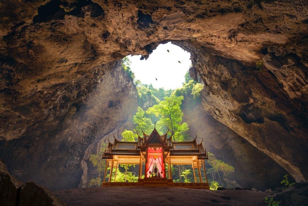 Phraya-Nakhon Cave in Thailand