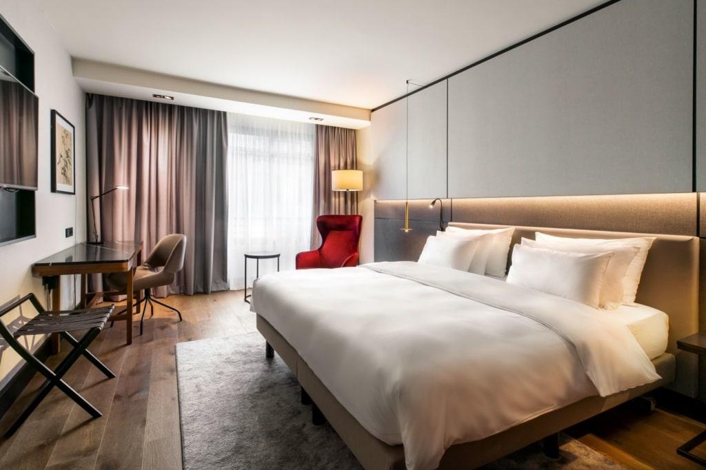 Zimmer im Radisson Collection Hotel Brüssel