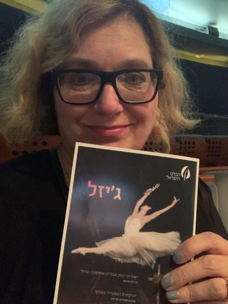 Simone Sever in der Oper in Tel Aviv