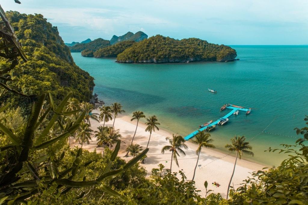 Strand im Ang Thong Marine National Park