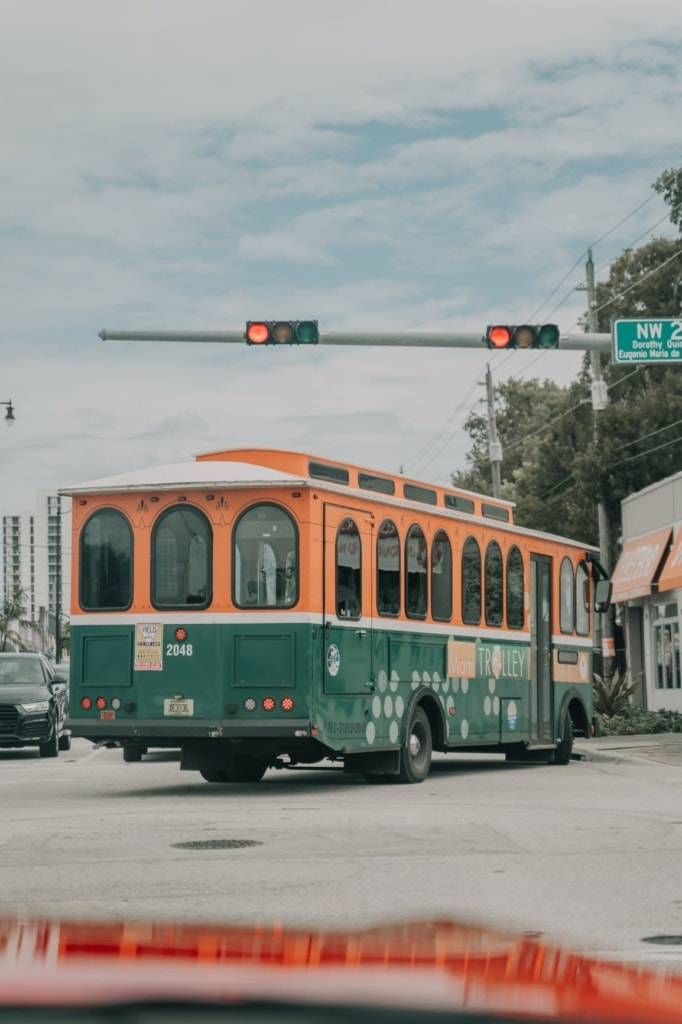 Trolley in Miami