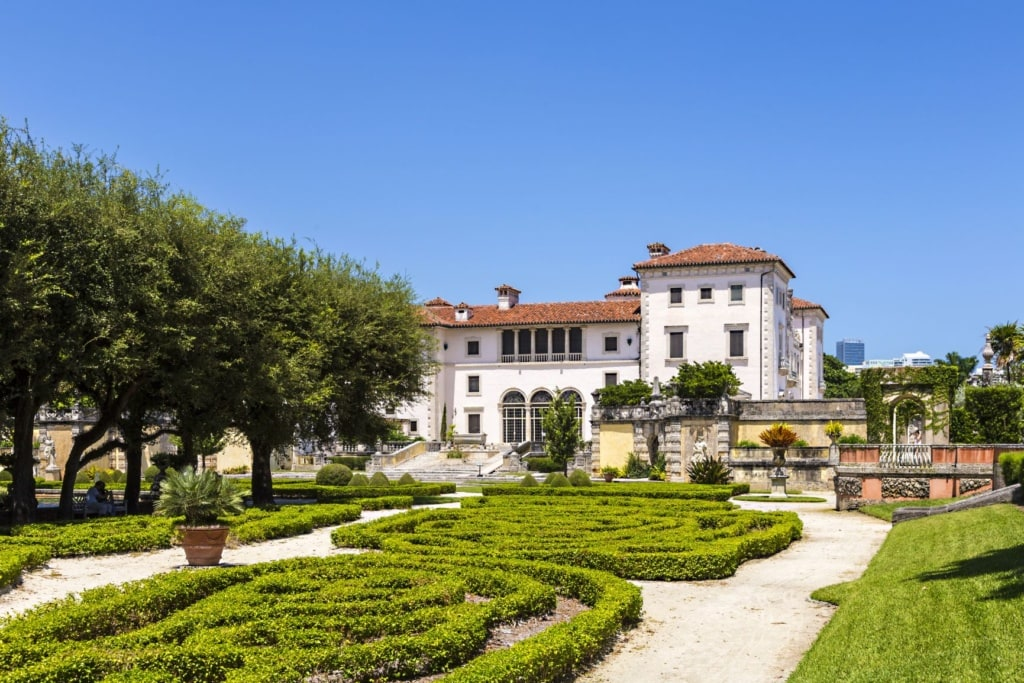 Vizcaya Museum and Gardens in Coconut Grove