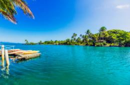 Traumkulisse auf den Fischi-Inseln in der Südsee