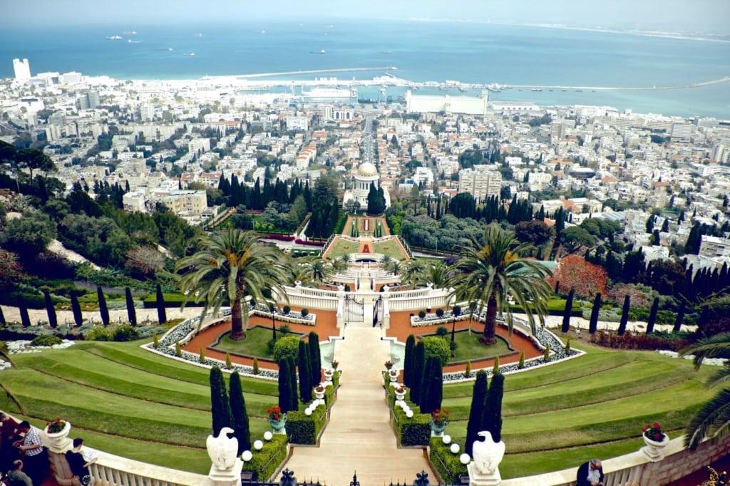 Hängende Gärten Haifa