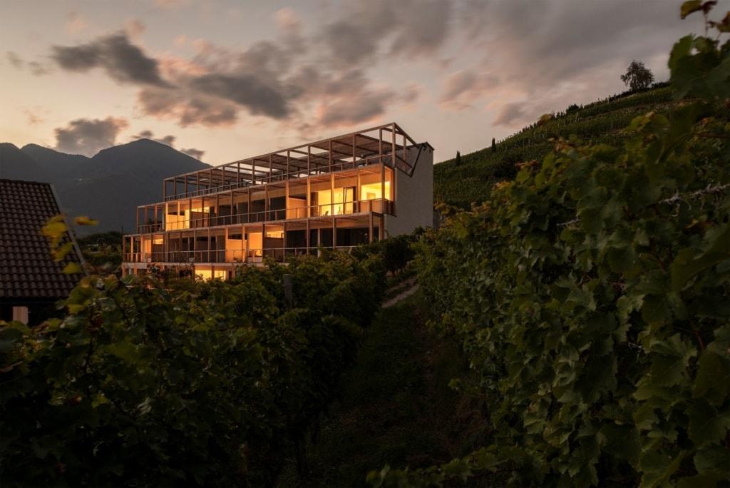 Haller Suites in Brixen, Außenansicht