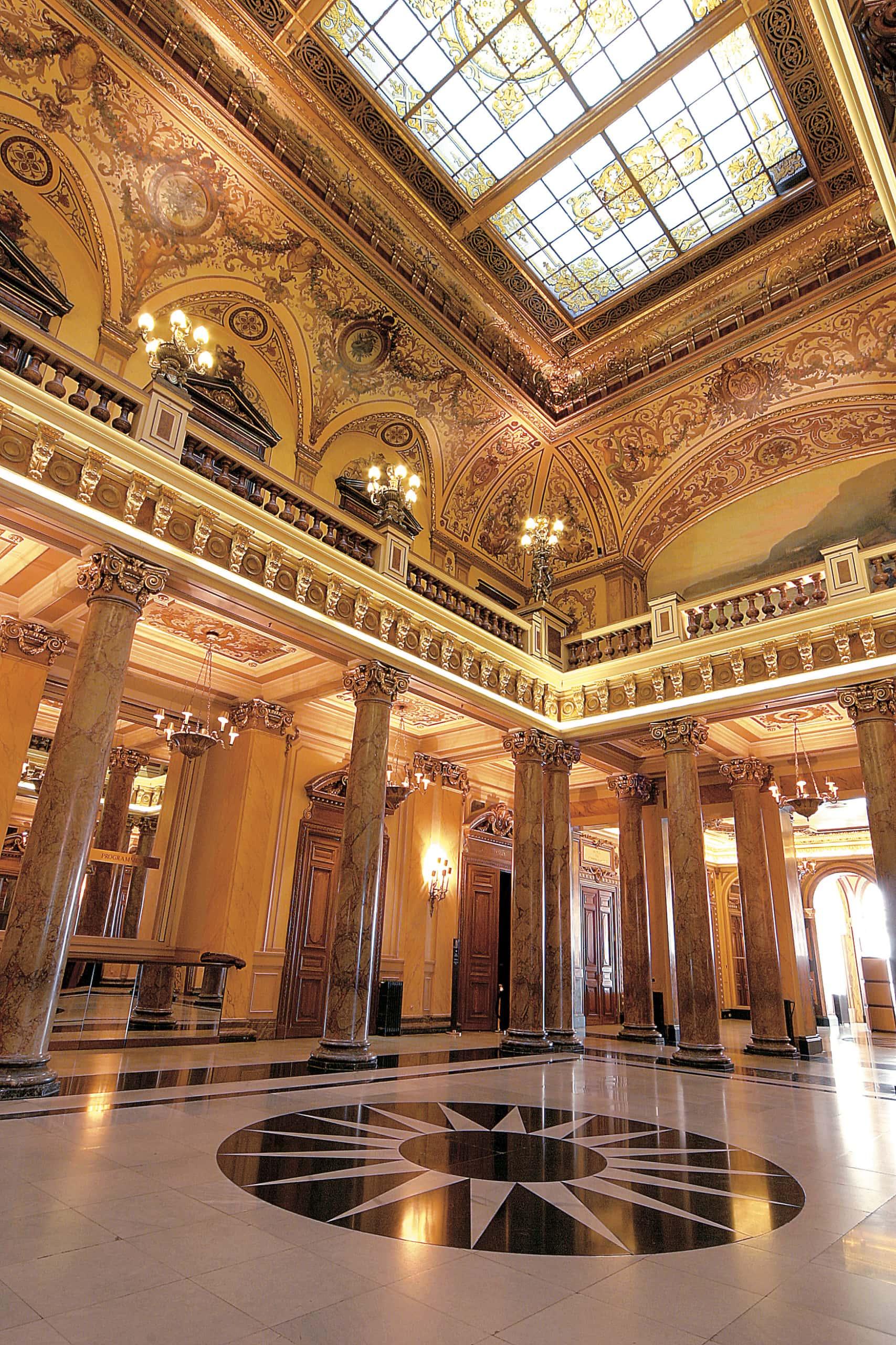 Atrium im Casino Monte Carlo