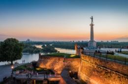 Festung Kalemegdan und Victor Monument, Belgrad, Serbien