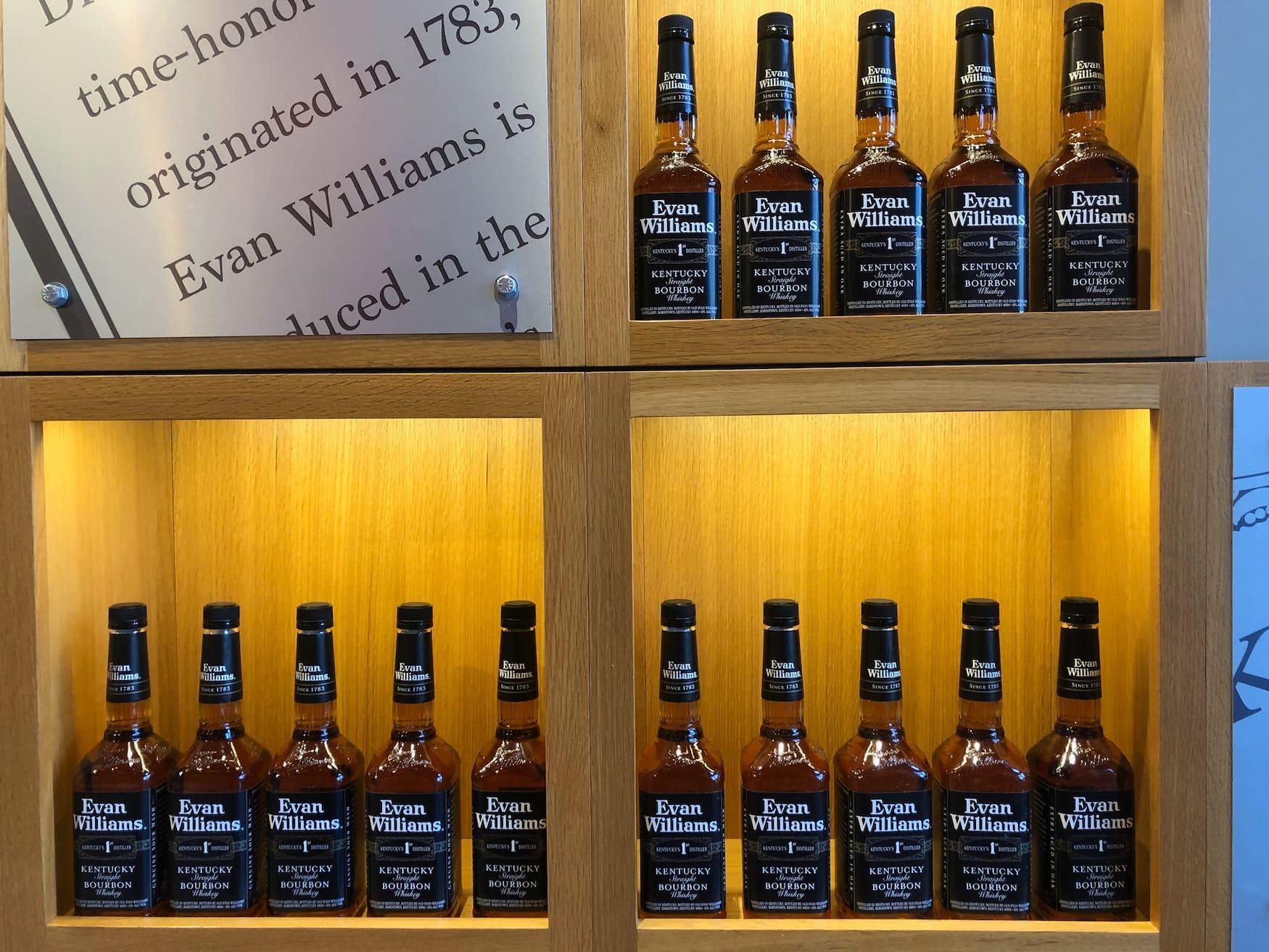 Louisville ist auch bekannt für seinen Bourbon