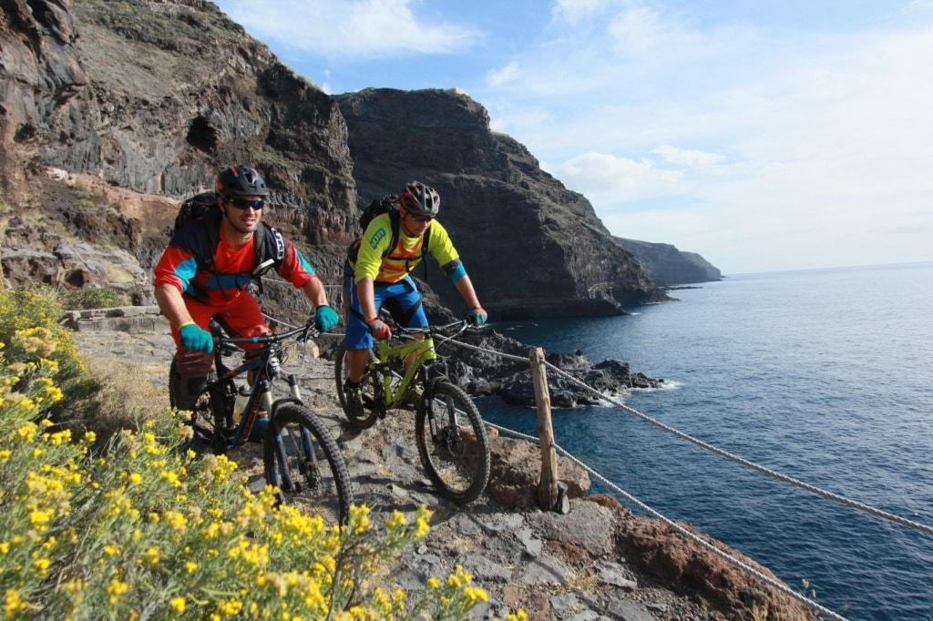 Natur pur auf La Palma.