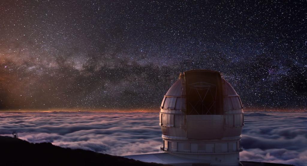 Die Sternwarten auf La Palma bieten einen traumhaften Blick in den Himmel.