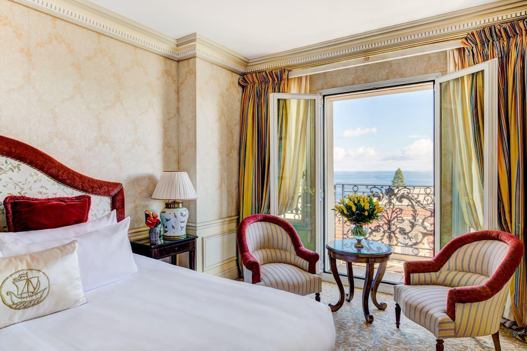 Suite Deluxe Mer im Hotel Metropole in Monaco