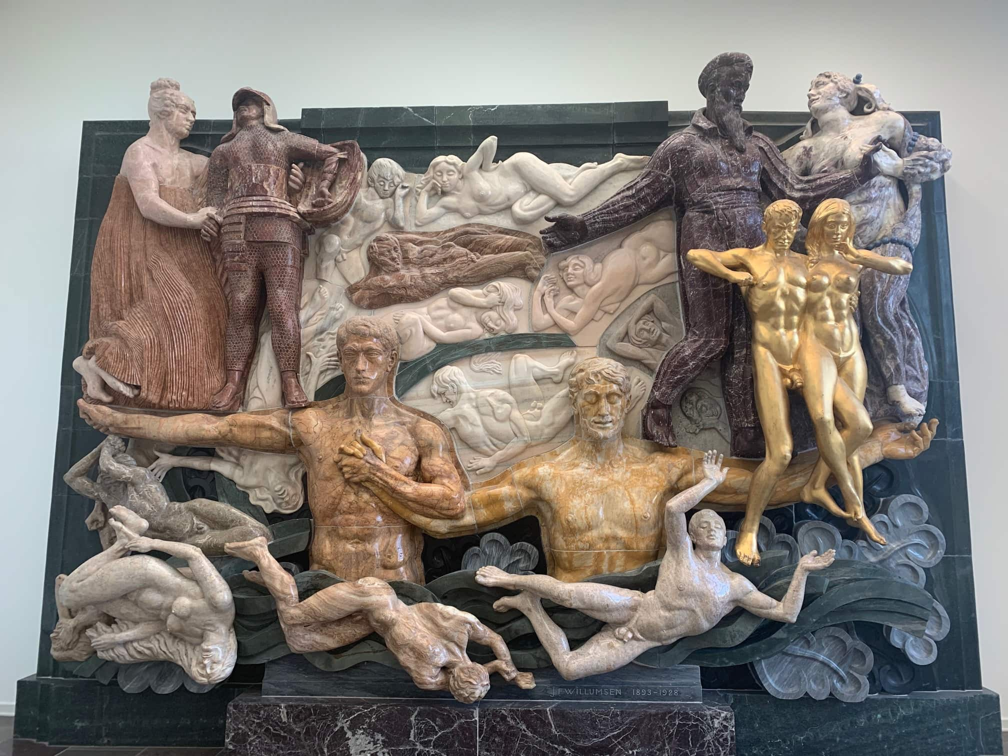 Werk von J.F. Willumsen im Museum