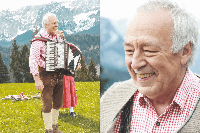Jodelkaiser beim Jodelseminar in Garmisch-Partenkirchen