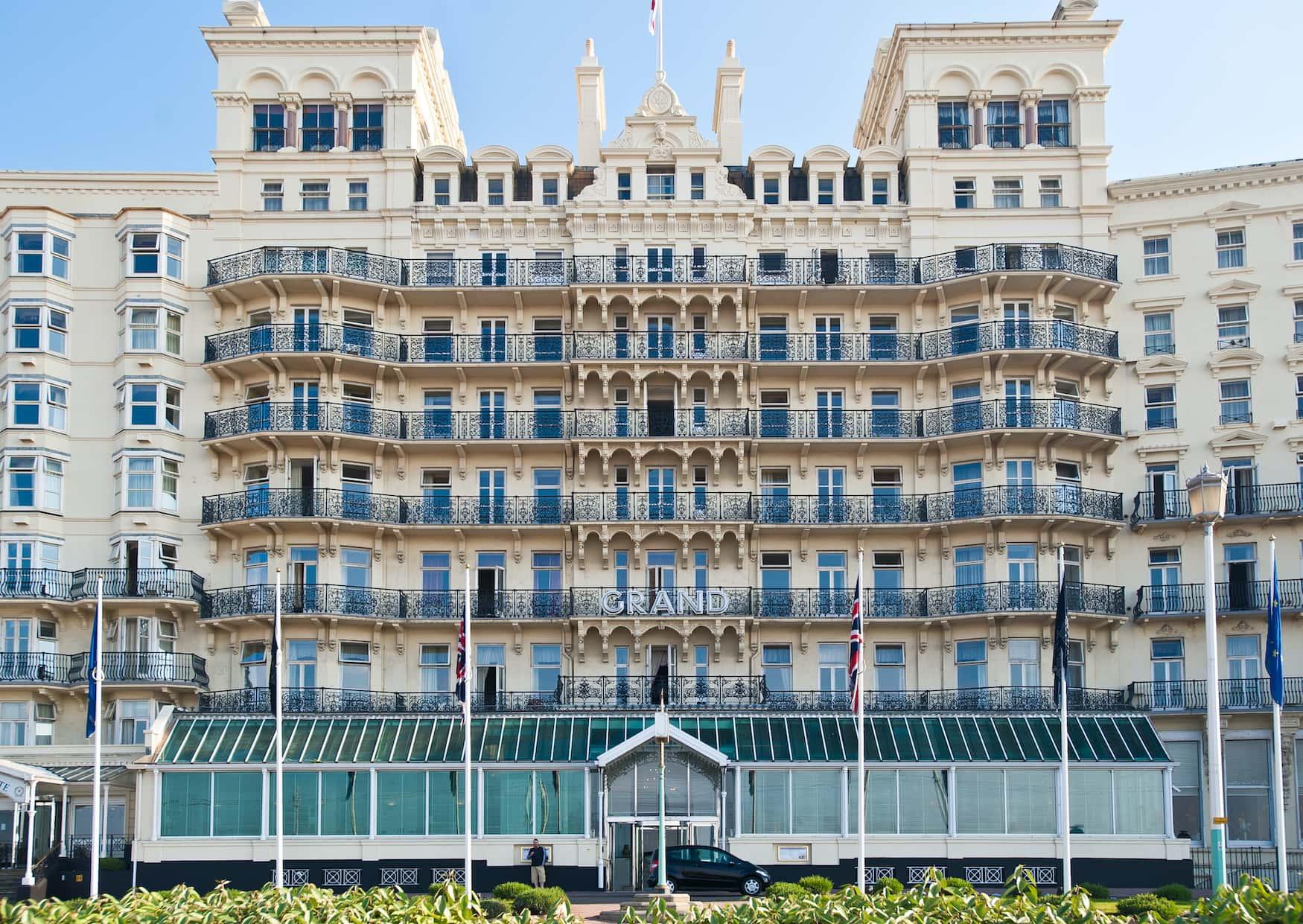 The Grand Brighton an einem sonnigen Tag