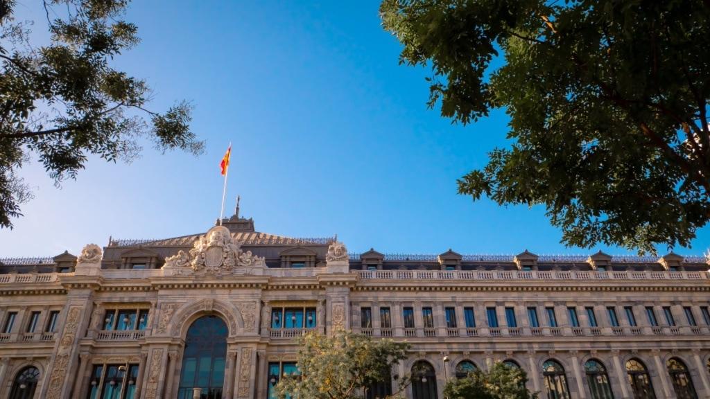 Banco de Espanha in Madrid