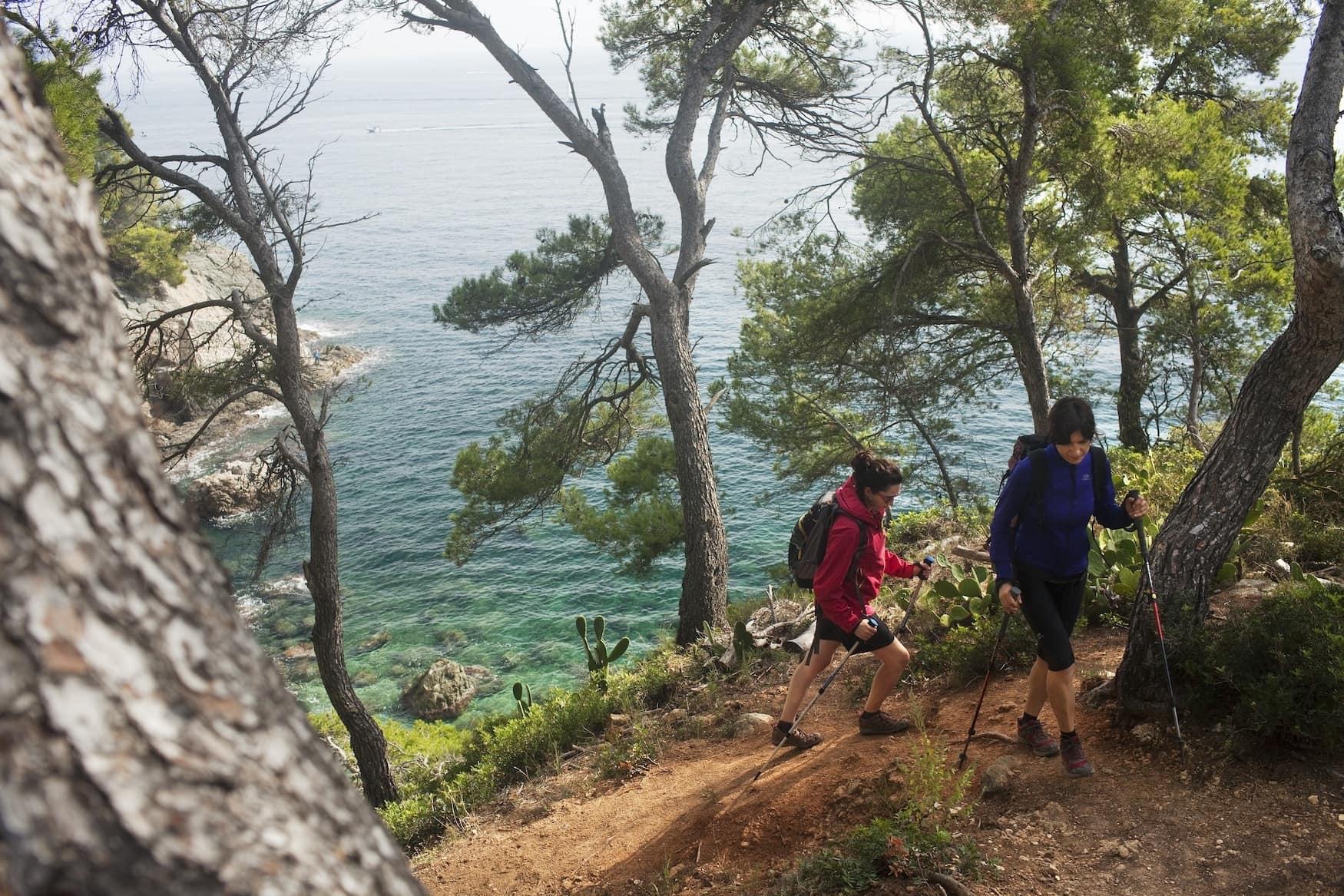 Wandern auf dem Camí de Ronda, Costa Brava,