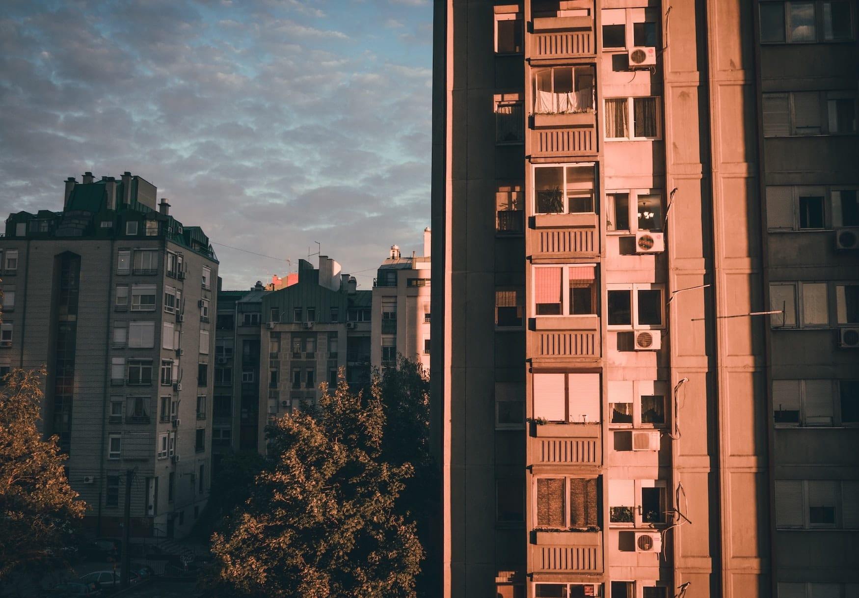 Häuser von Belgrad