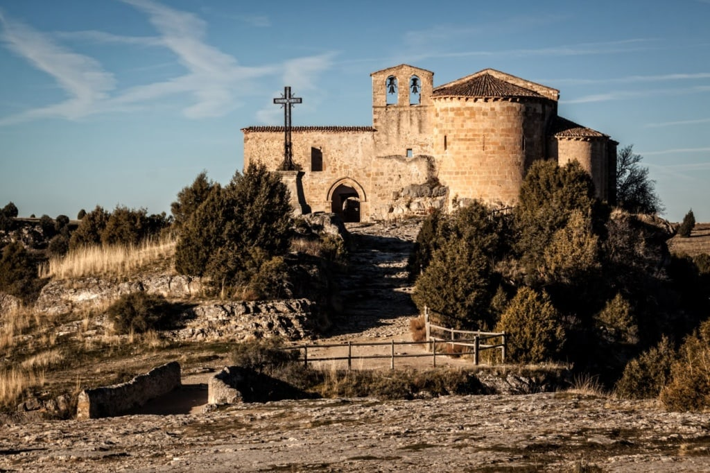 Haus-des-Geldes-Drehorte: Hermitage of San Frutos