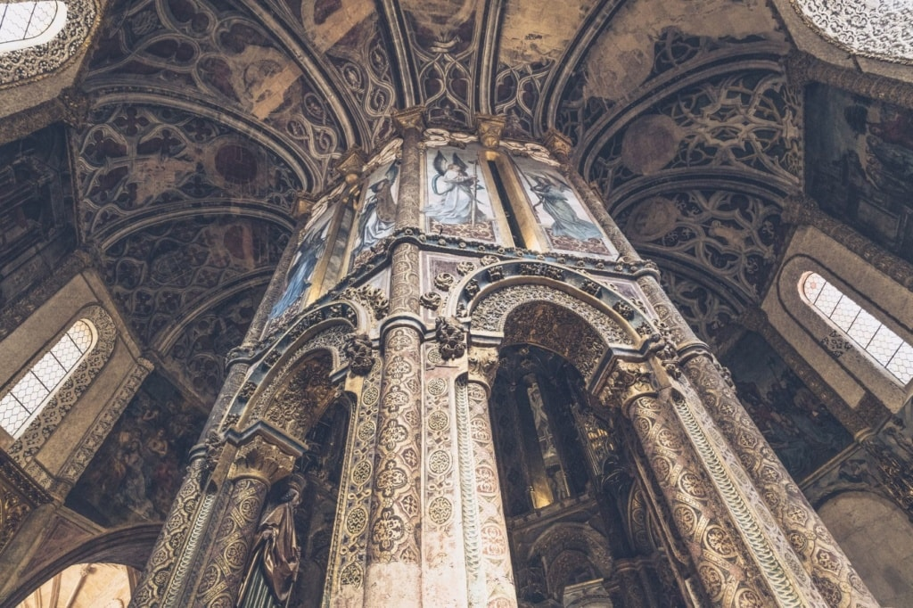 Innenraum Convento de Cristo