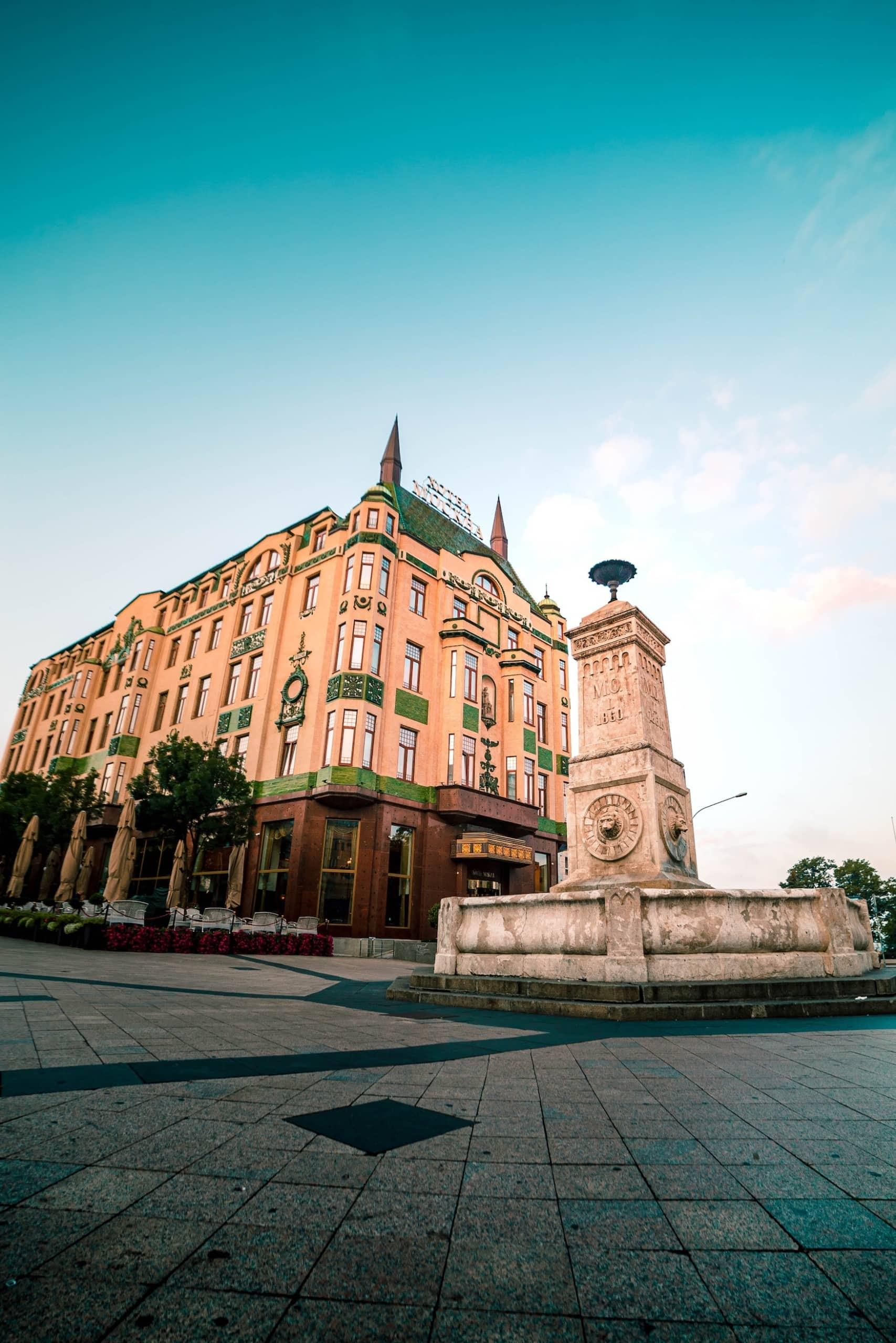 Jugendstilhotel Moskva in Belgrad