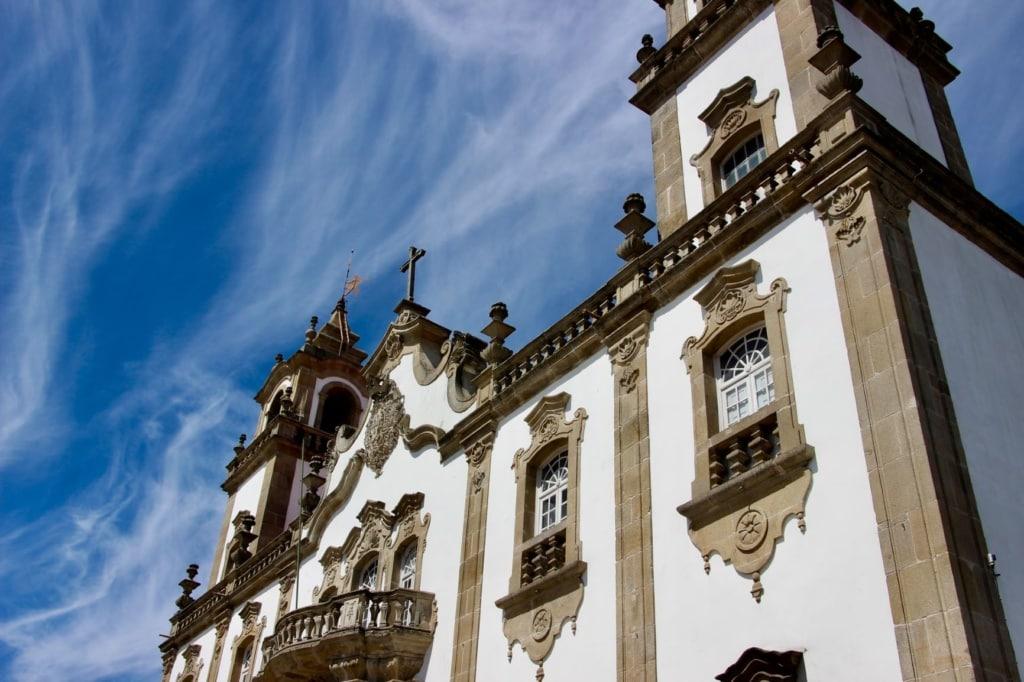 Kirche in Viseu Portugal