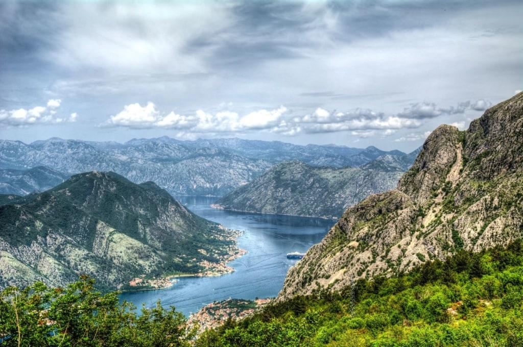 Ausblick auf die Landschaft des Lovcen Nationalpark