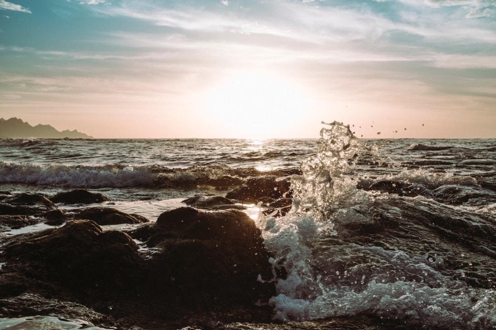 Das Meer ist in Gran Canaria nie weit.