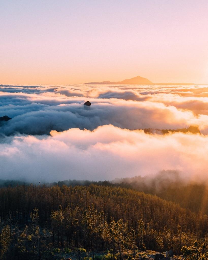 Das Wolkenmeer von Gran Canaria erlebet man am besten beim Wandern.