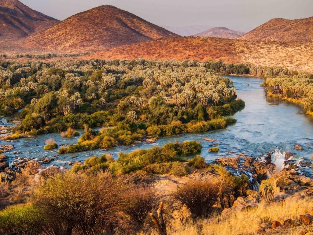Die Epupa Falls im Norden Namibias sind der Wahnsinn!