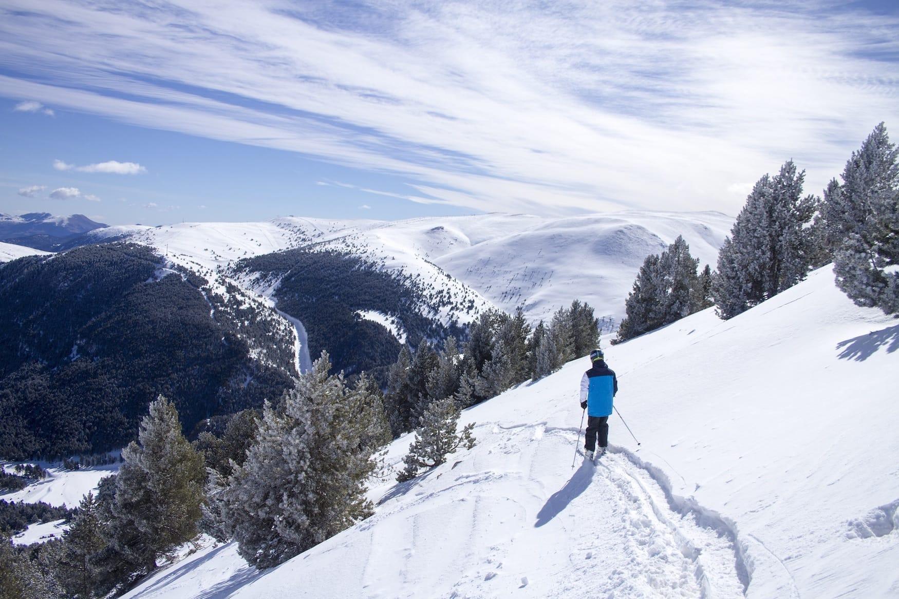 Katalonien aktiv erleben: Skifahren in La Molin in den Pyrenäen