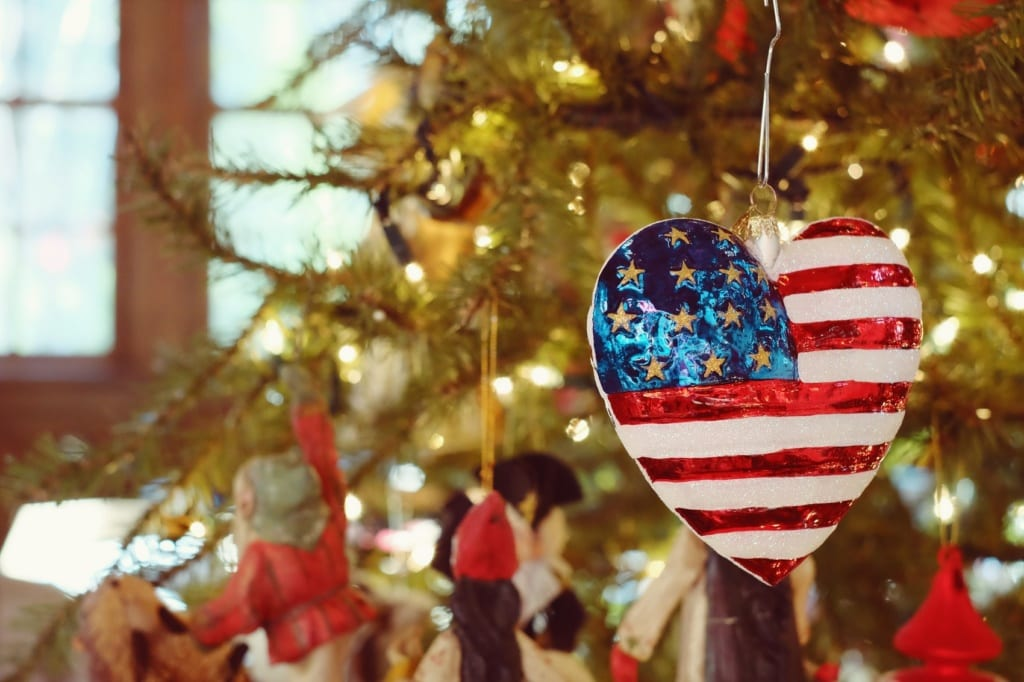Weihnachten in den USA wird oft sehr christlich gefeiert.